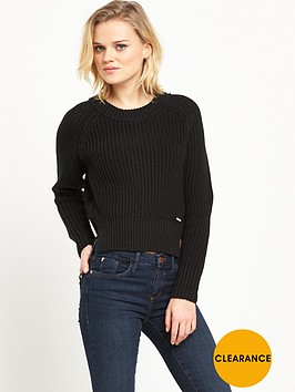 dr-denim-dr-denim-dakota-cropped-ribbed-jumper