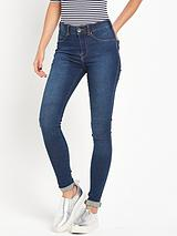 DR DENIM PLENTY SKIN TIGHT MID RISE JEGGING