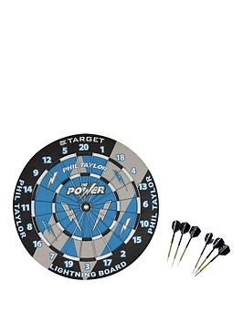 target-phil-taylor-power-lightning-paper-dart-board