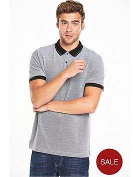 v-by-very-short-sleeve-contrast-tipped-pique-polo
