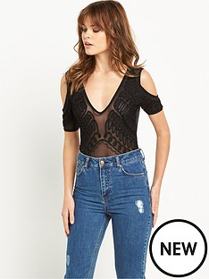 miss-selfridge-cold-shoulder-cornelli-body