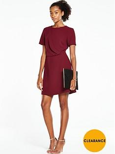 oasis-drape-front-dress