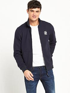 g-star-raw-strijsk-full-zip-collar-sweat
