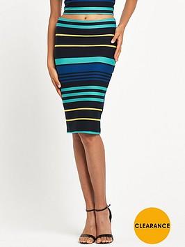 miss-selfridge-stripe-pencil-skirt