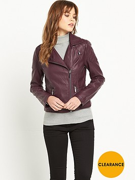oasis-faux-leather-bikernbsp