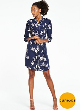 oasis-bird-piped-shirt-dressnbsp