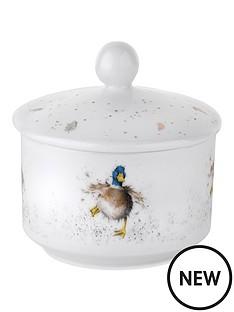 portmeirion-sugar-pot-duck