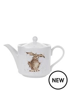 portmeirion-wrendale-hare-teapot