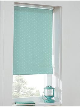 polka-dot-blackout-roller-blind