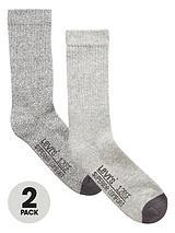 Levis 2pk cushion sole sock