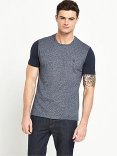 original-penguin-penguin-mouline-contrast-sleeve-t-shirt