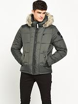 Whistler Hooded fur Jacket