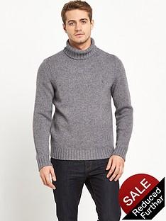 original-penguin-penguin-chunky-roll-neck-knitted-jumper