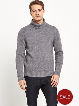 original-penguin-penguin-chunky-roll-neck-knitted-jumper