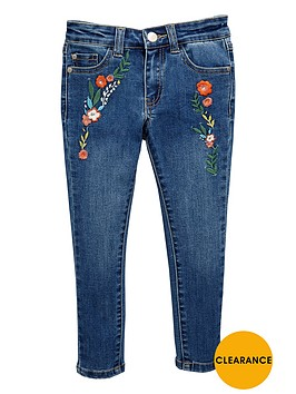 v-by-very-girls-embroidered-skinny-jeans