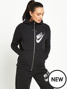 nike-sportswear-rally-metallic-zip-hoodie