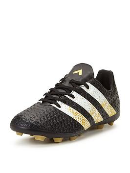 Adidas Ace 16.4 Junior Firm Ground Leather Football Boot