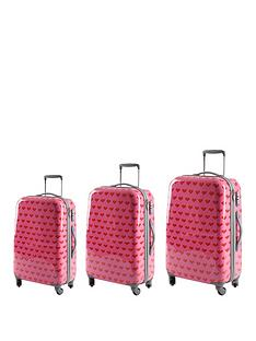 myleene-klass-heart-print-trolley-case-3-piece-set