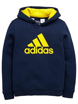 adidas-older-boys-logo-overhead-hoodie