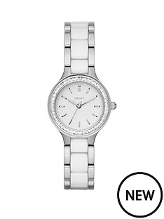 dkny-chambers-white-dial-two-tone-ceramic-bracelet-ladies-watch