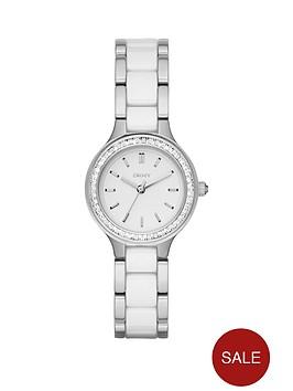 dkny-chambers-white-dial-two-tone-ceramic-bracelet-ladies-watch