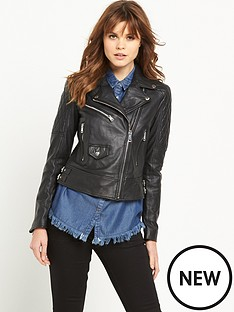 replay-real-leather-biker-jacket