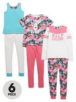 v-by-very-girls-floralsleep-pyjamas-set-6-piece