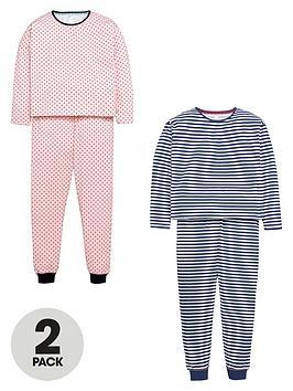v-by-very-girls-stripe-and-polka-dot-pyjamas-2-pack