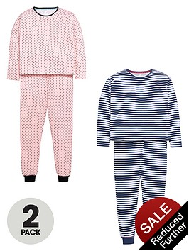 v-by-very-girls-stripe-and-polka-dot-pyjamas-2-pack