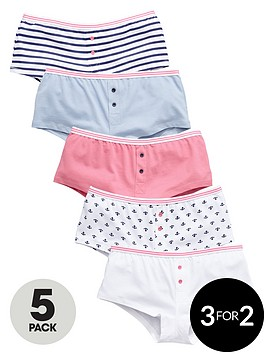 v-by-very-girls-nautical-hipster-briefs-5-pack