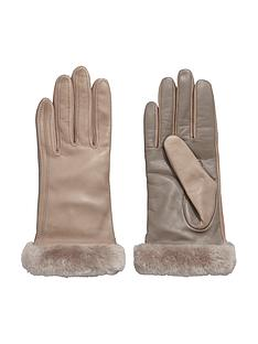 ugg-leather-smart-glove