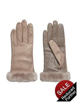 ugg-leather-smart-glove