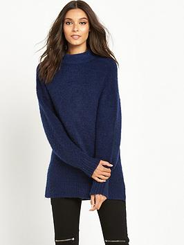replay-high-neck-jumper