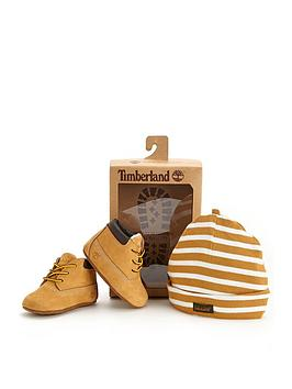 timberland-crib-bootie-set-with-hat