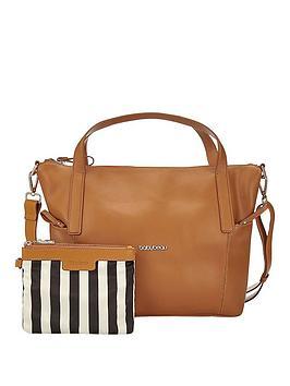 babybeau-sophia-tan-changing-bag