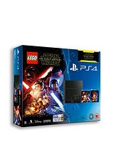500Gb Console with Lego Star Wars and Optional Extra Controller 365 PSN Subscription