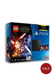 playstation-4-500gb-console-with-lego-star-wars-and-optional-extra-controller-365-psn-subscription