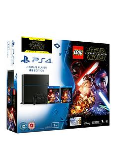 playstation-4-1tb-console-with-lego-star-wars-and-optional-extra-controllor-and-365-days-psn-subscription