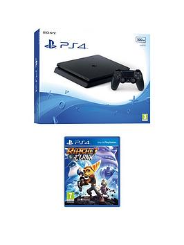 Playstation 4 500Gb Console With Ratchet And Clank And Extra Controller