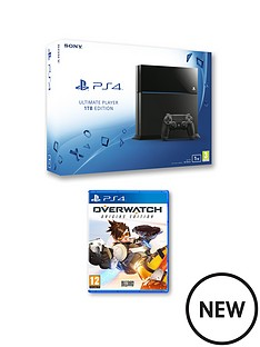 playstation-4-1tb-console-with-overwatch-and-optional-extra-controller-365-days-psn-subscription