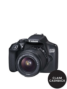 canon-eos-1300d-slr-camera-inc-ef-s-18-55mm-f35-56-non-is-dc-iii-lens