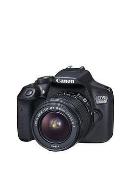 Canon Eos 1300D Slr Camera Inc EfS 1855Mm F3.55.6 Non Is Dc Iii Lens