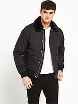 Air Shearling Collar Jacket