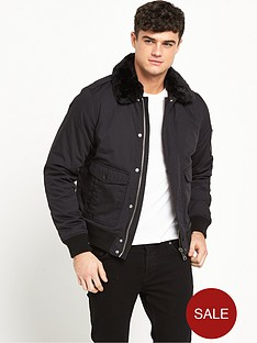 schott-air-shearling-collar-jacket