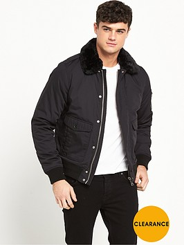 schott-air-shearling-collar-jacket