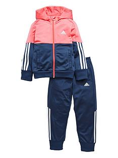 adidas-adidas-younger-girls-poly-tracksuit