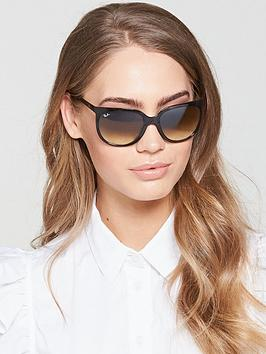 Ray-Ban Ray-Ban Tort Oval Sunglasses Picture
