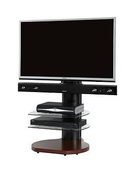 off-the-wall-no-more-wires-origin-tv-stand-with-soundbar-brackets-oak-effect-walnut-effect-fits-up-to-65-inch-tv