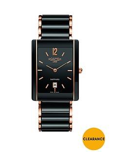 roamer-roamer-ceraline-saphira-black-dial-black-bracelet-ceramic-ladies-watch