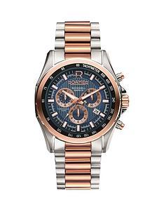 roamer-roamer-rockshell-blue-dial-chronograph-two-tone-stainless-steel-mens-watch